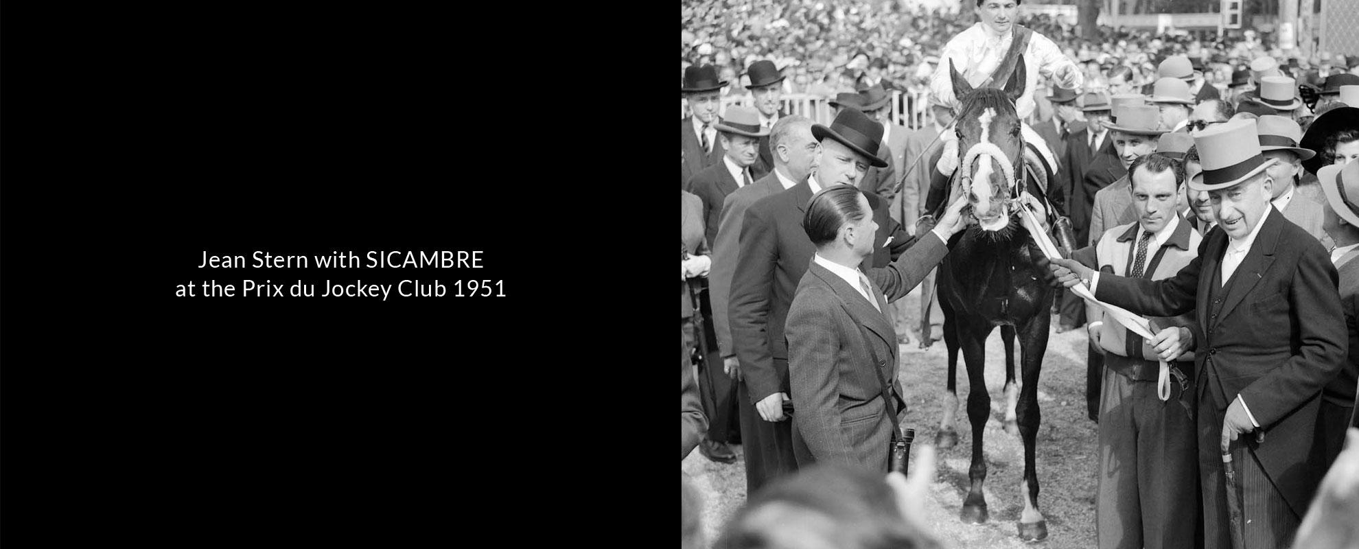 _jean-stern-with-sicambre-at-the-prix-du-jockey-club-1951-v2